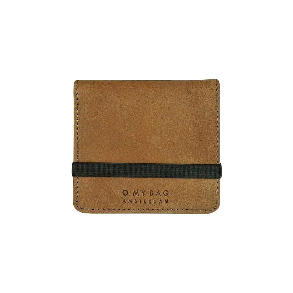 O My Bag Alex's fold-over wallet camel eco leather