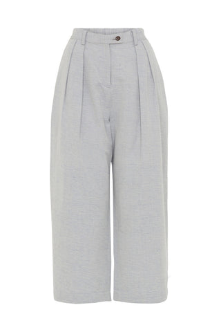 People Tree Loose fit trousers light grey