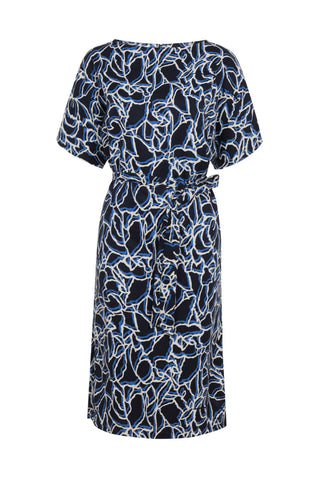 People Tree Alaina dress navy
