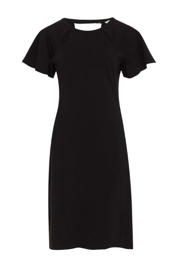 People Tree Marguerite dress black