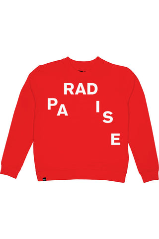 Dedicated Ystad paradise sweater red
