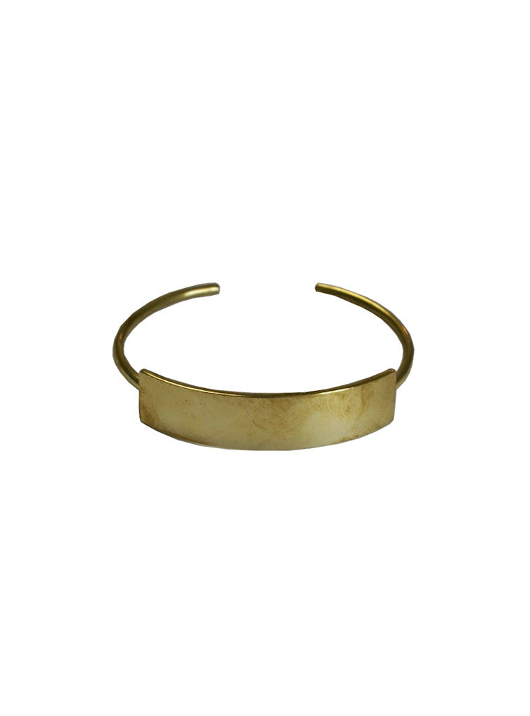 Studio jux Bar bracelet recycled brass