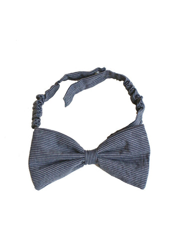 Studio Jux Bow tie blue stripe