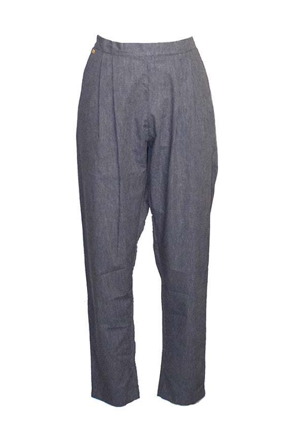 Trousers blue stripe