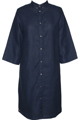 Studio Jux Blouse dress dark blue