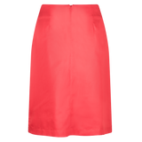 Symbol Wrap Skirt Mars Red