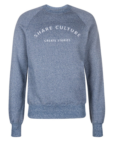 Culture Sweater Blue Heaven