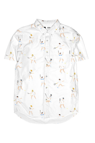 Dedicated Short sleeve shirt tennis people white