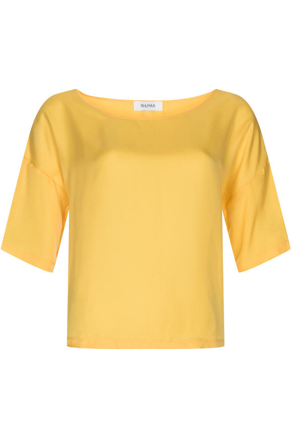 Rhumaa Circlet top yellow t-shirt