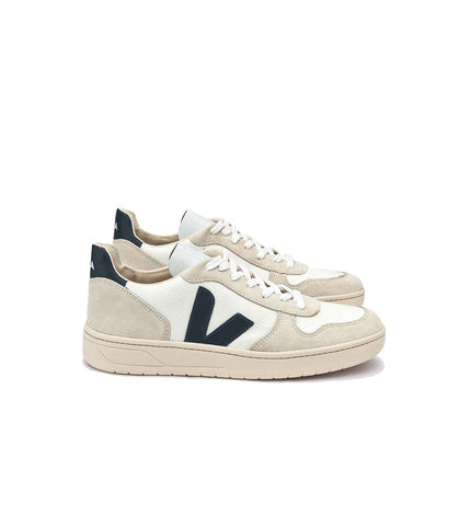 Veja Men's V-10 BMesh Sneaker White Natural Nautico