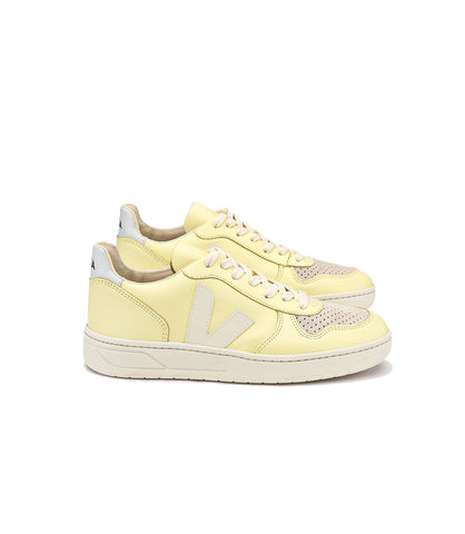 Veja Women's V10 Leather Sneakers Sun