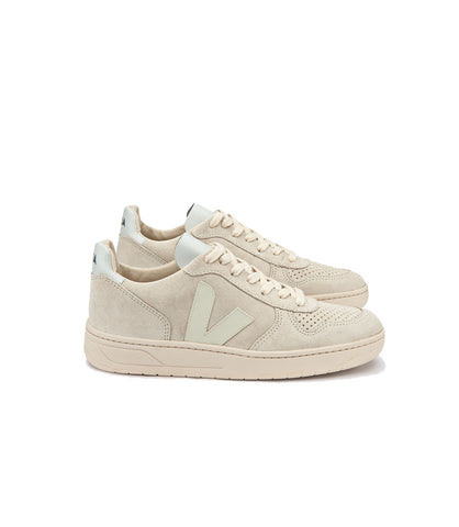 Veja Women's V10 Suede Sneakers Natural