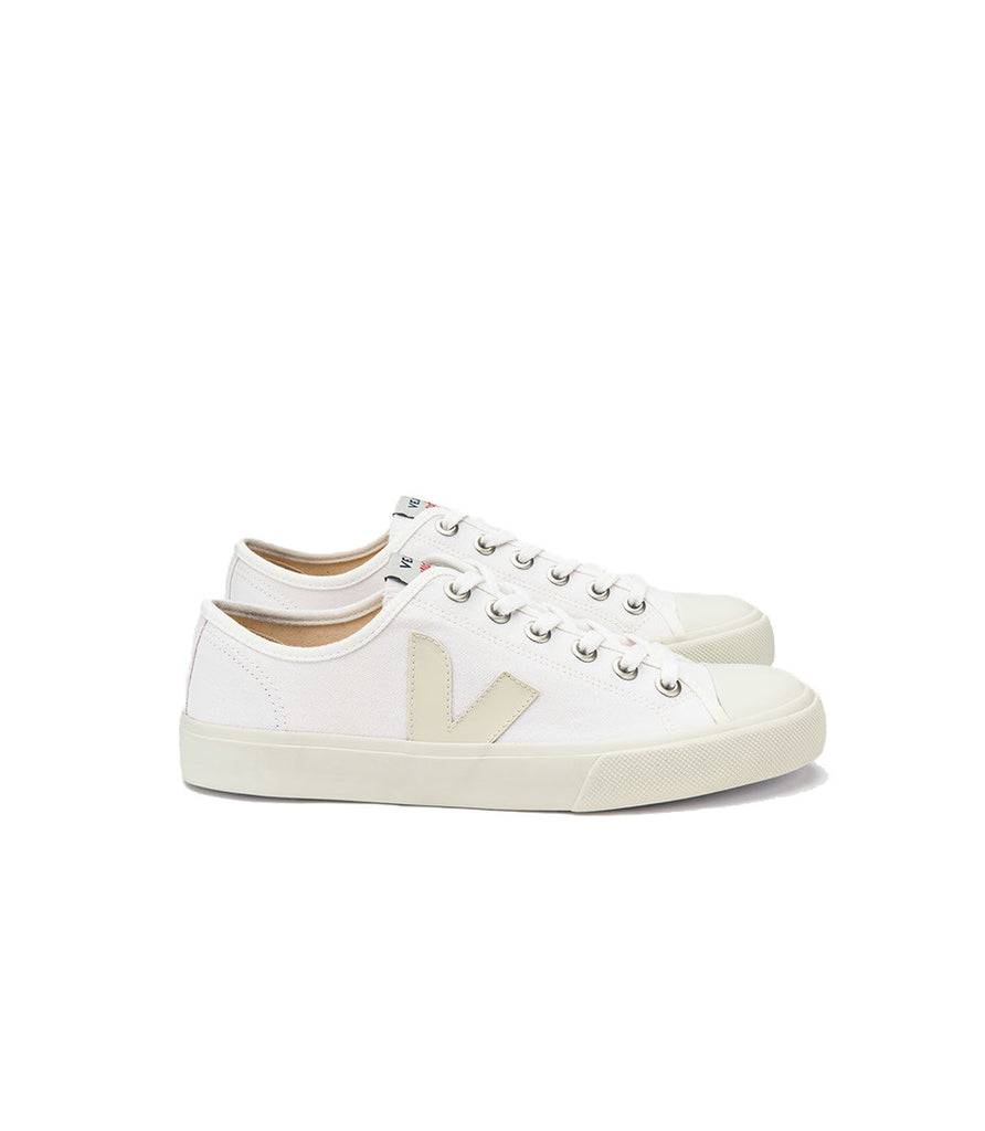 Veja Women's Wata Canvas Sneakers White Pierre