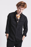 Woodsmen volume shirt Dark navy