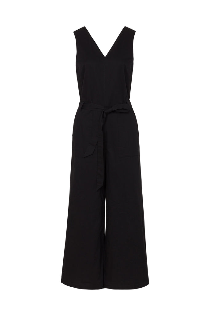 Adalee Jumpsuit Black from Charlie + Mary