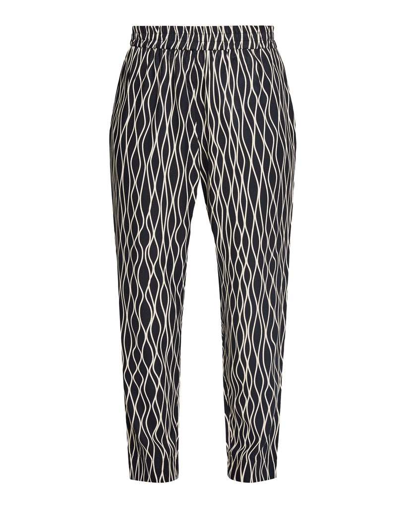 Aina Abstract Trousers Black from Charlie + Mary