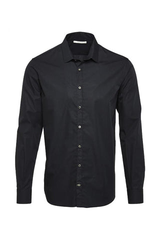 Wunderwerk Metro shirt slim male black