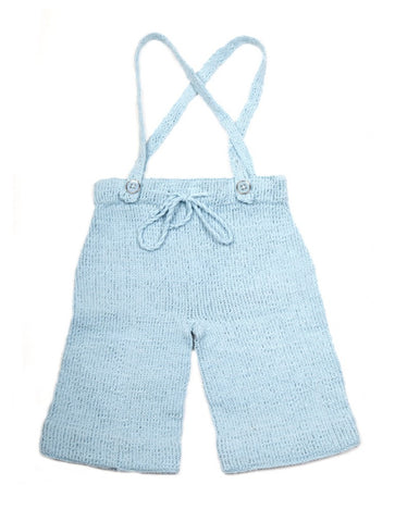 Granny's finest baby Broekje Wil light blue organic cotton
