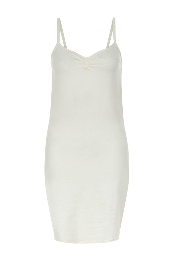 Camisole slip dress Cream from Charlie + Mary
