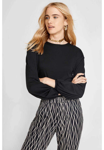 Cathleen Top Black