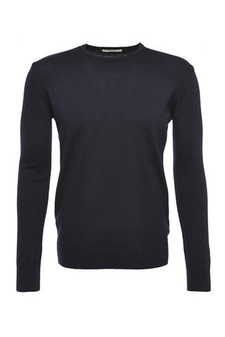 Wunderwerk Core crewneck dark navy