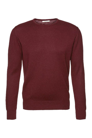 Wunderwerk Core crewneck deep wine burgundy