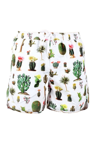Dedicated swim shorts cactus white
