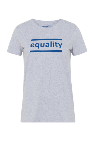 Equality tee grey melange