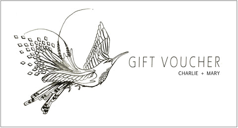 Gift Card in €10 - € 25 - €50 - €100