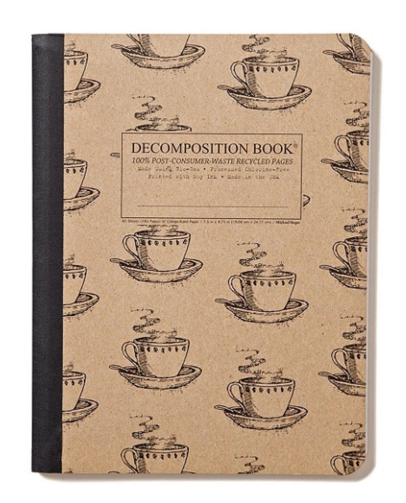 Decomposition Book Coffee Cup