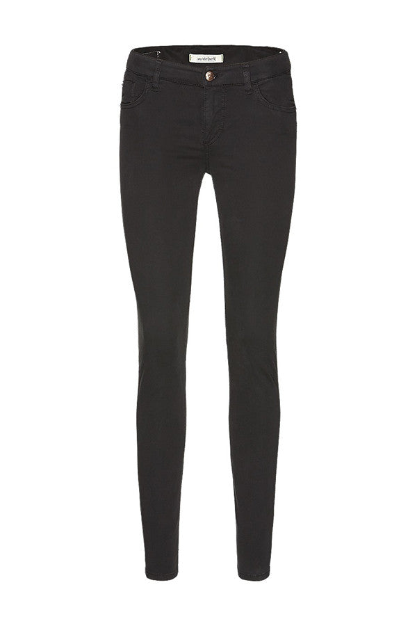 Wunderwerk Josy black skinny trousers tencel black