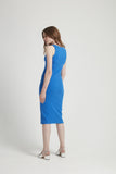 People Tree Kinsey dress blue