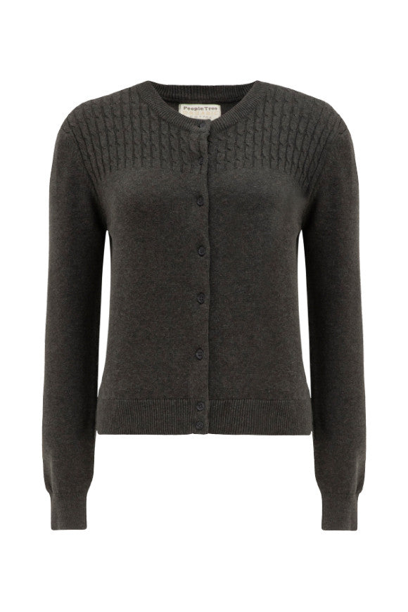 Matilda cardigan grey