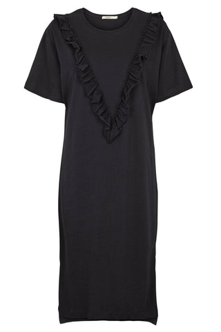 POPUPSHOP maya dress yet black