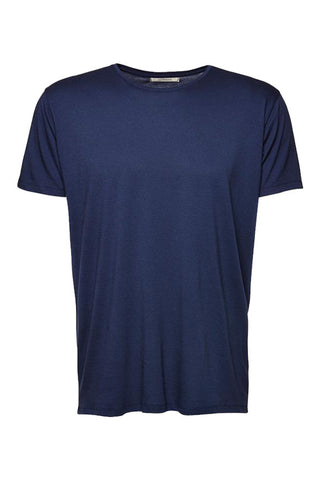 Wunderwerk Tee crewneck Co/Modal smoky blue