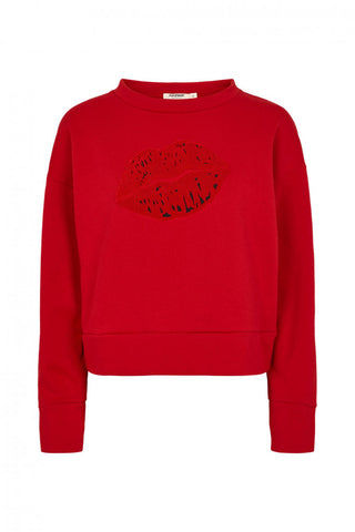Olu Turtle Sweat Haute Red