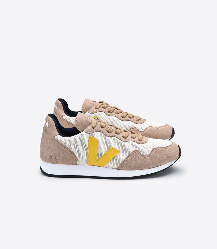 Women's vegan SDU'S Natural Miel Gold Yellow from Charlie + Mary