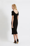 People Tree Sheridan dress black
