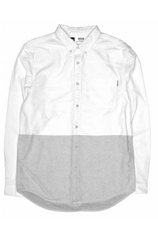 Shirt 50/50 white/grey