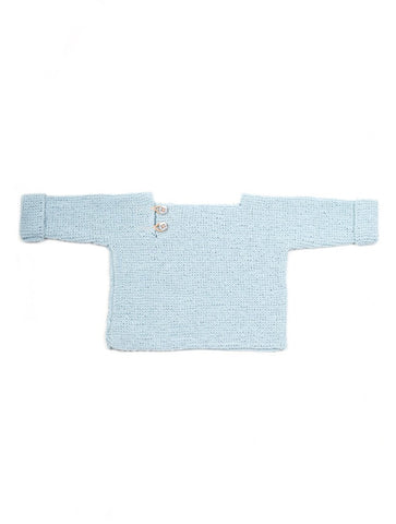 Granny's finest baby Truitje Gon light blue organic cotton