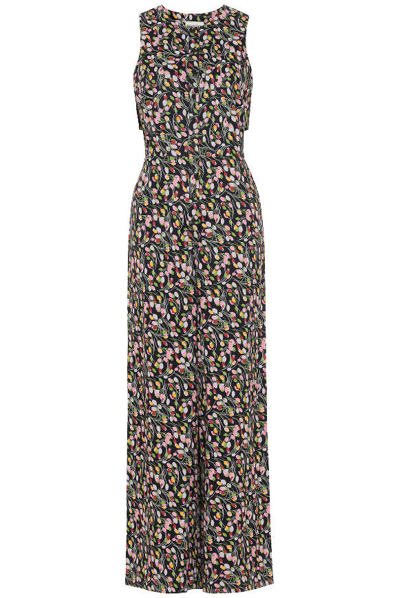 V&A; Tulip print jumpsuit Multi Coloured from Charlie + Mary