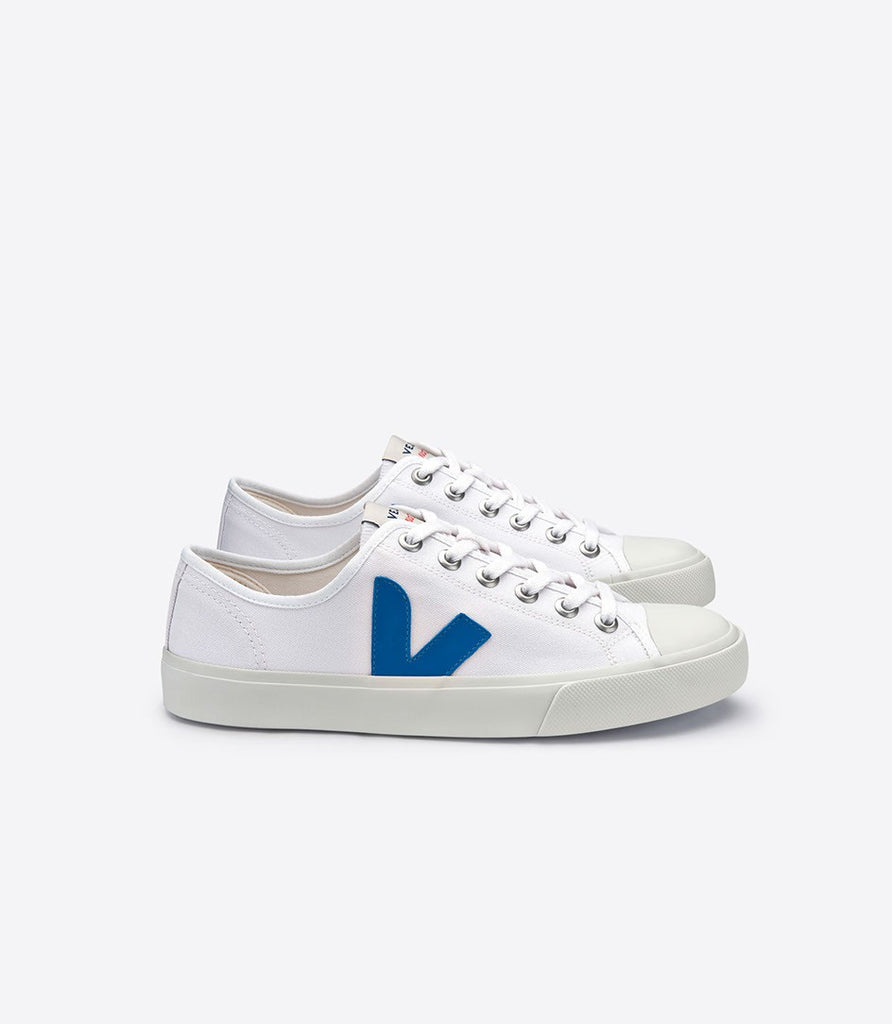 Women's Wata Canvas White Swedish Blue