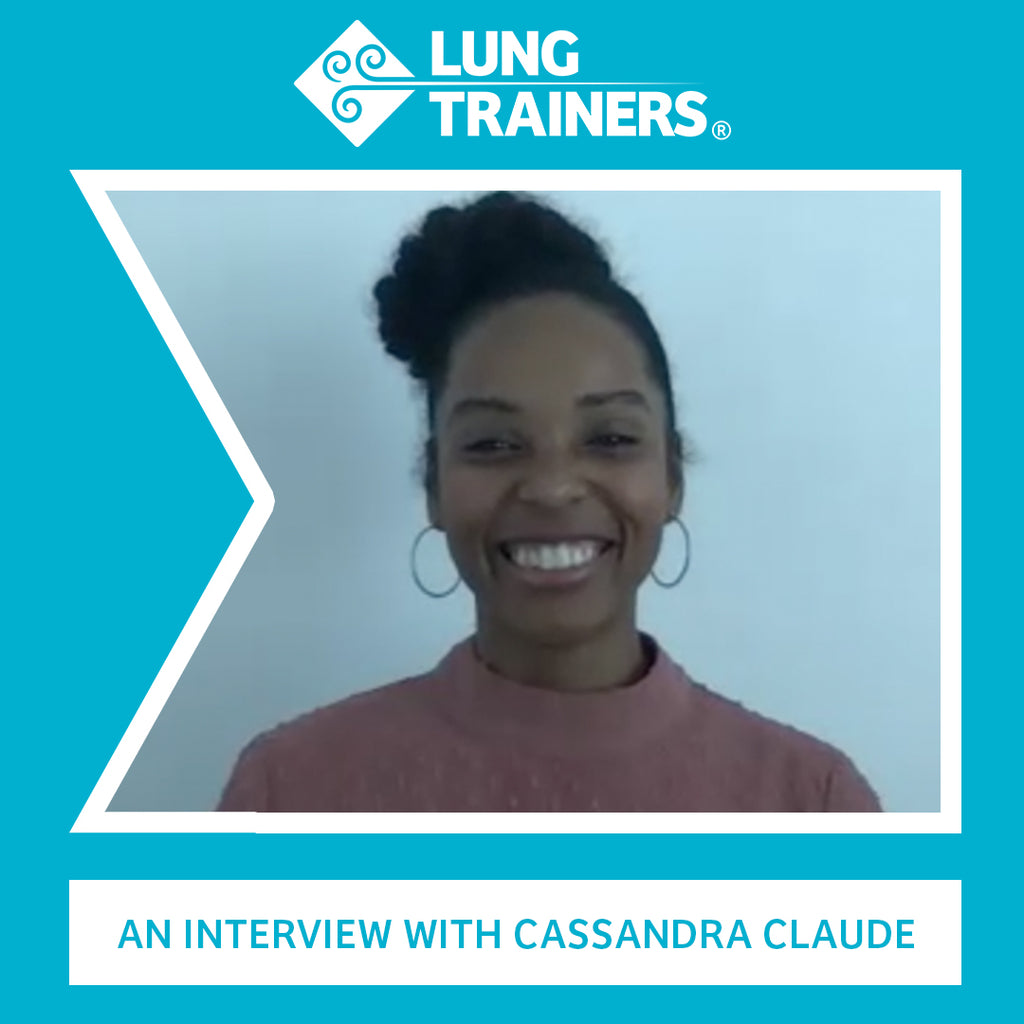 LungTrainers Interview Series: Cassandra Claude