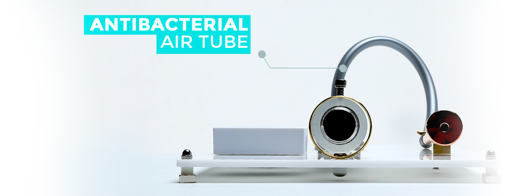 Antibacterial air tube
