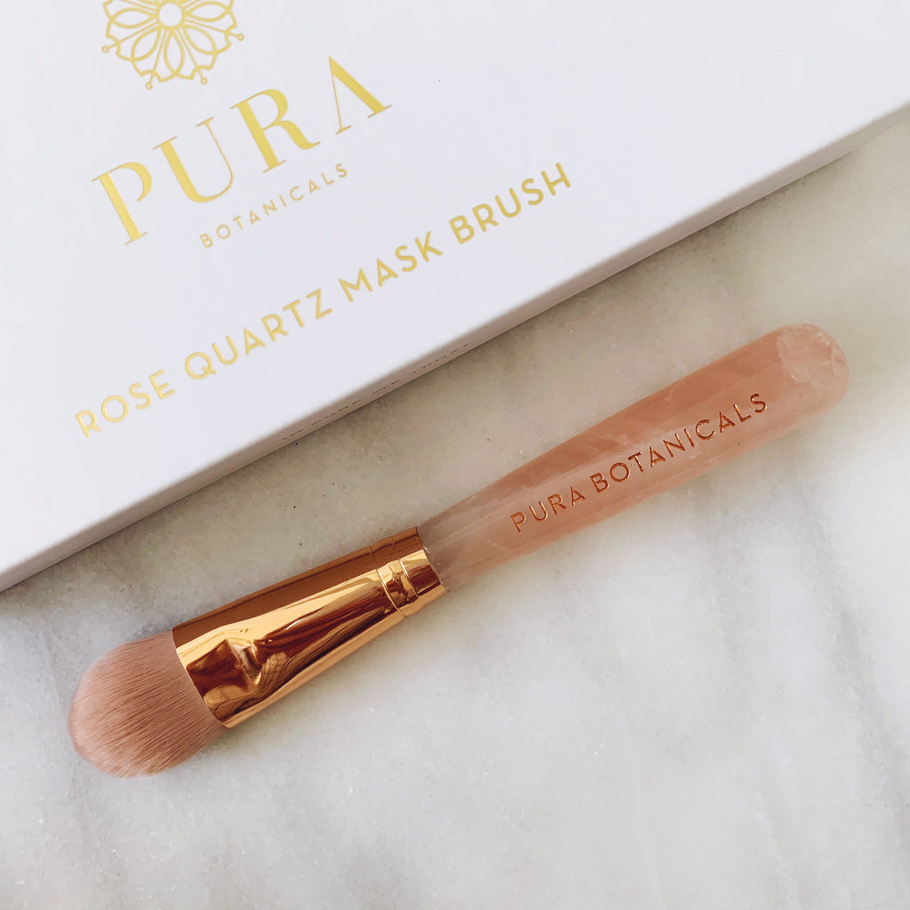 Rose Quartz Mask Brush