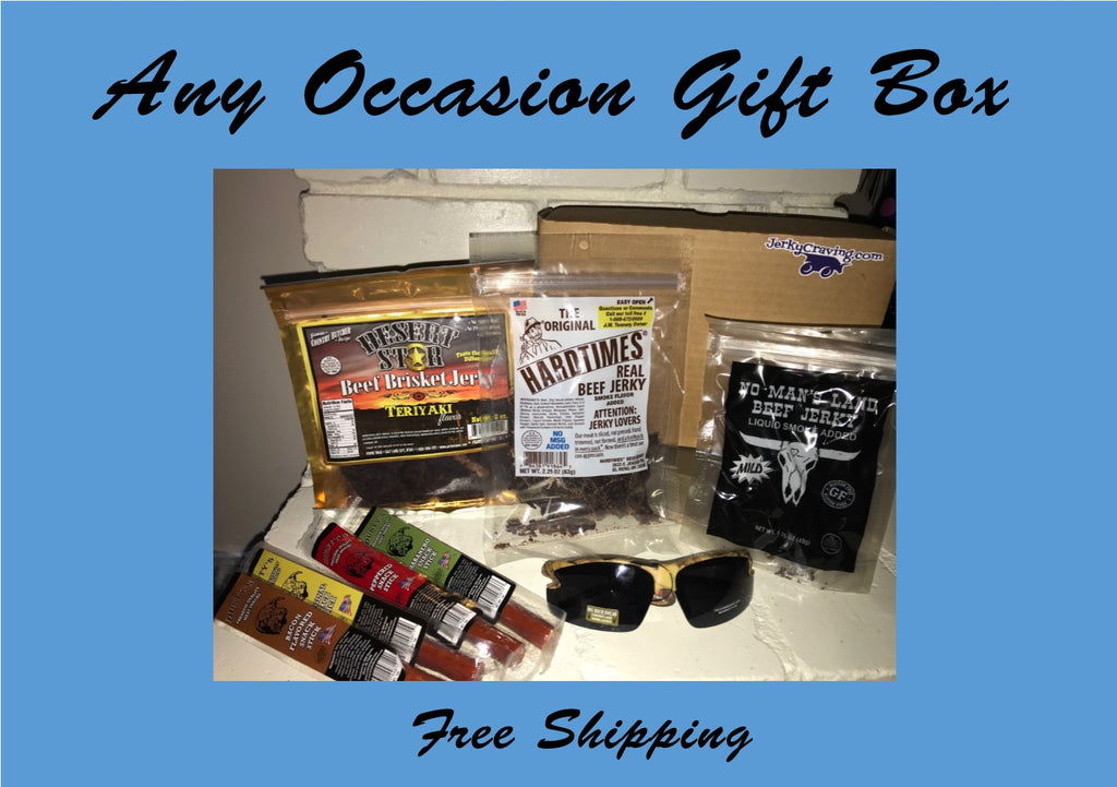Any Occasion Beef Jerky Gift Box