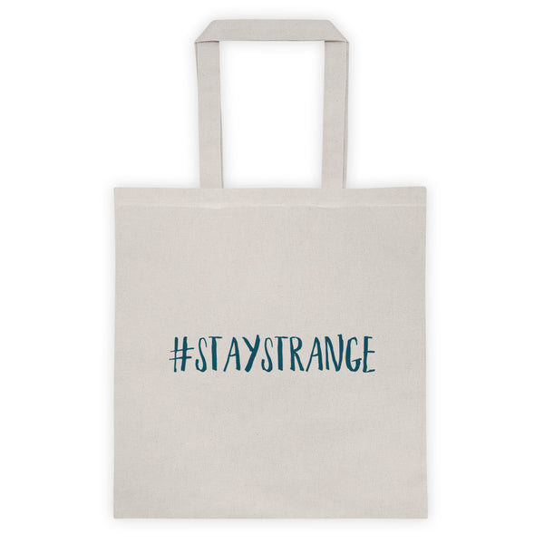 Logo/#STAYSTRANGE Tote Bag