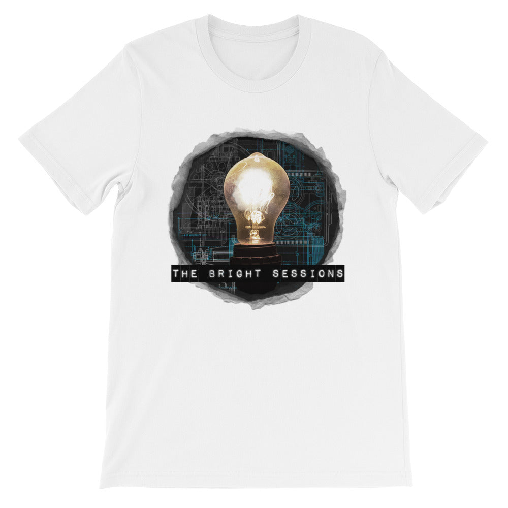 Black Lightbulb Unisex T-Shirt