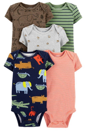MULTI PACK BODYSUIT 5 pcs CARTER'S $ 10.25 C/U