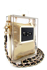 That Perfume Clutch Bag - rawgabbit